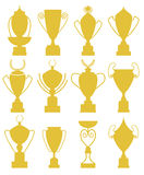 Trophy. Vector illustration (EPS 10 royalty free illustration