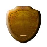 Trophy wall plaque Royalty Free Stock Image