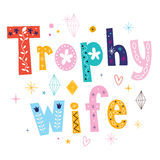 Trophy wife Royalty Free Stock Photography