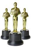 金trophys 图库摄影