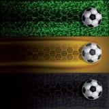 Tropi piłki nożnej piłkę royalty ilustracja