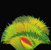 Tropic art grass. Stock Image