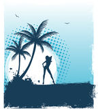 Tropic back Royalty Free Stock Photography
