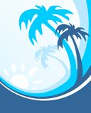 Tropic background Royalty Free Stock Image