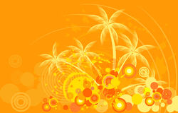 Tropic background Royalty Free Stock Images