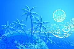 Tropic background Stock Photo