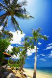 Tropic bay royalty free stock photo