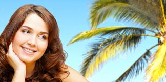 Tropic beauty Royalty Free Stock Photo
