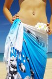 Tropic belly Royalty Free Stock Photo