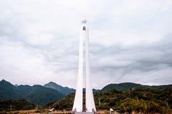 Tropic of Cancer landmark in Hualien, Taiwan Stock Photo