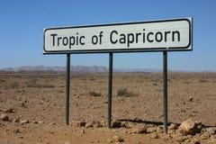 Tropic of Capricorn Stock Photos