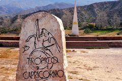 Tropic of Capricorn Royalty Free Stock Photography