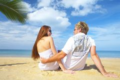 Tropic chat Royalty Free Stock Photography