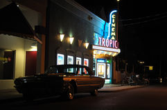 Tropic Cinema, Key West, Florida Royalty Free Stock Photos