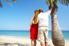 Tropic couple Royalty Free Stock Photography