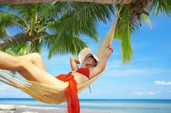 Tropic dreams royalty free stock photography
