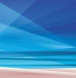Tropic exotic island ocean beach Royalty Free Stock Image