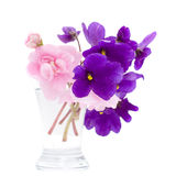 Tropic Flowers in Vase Royalty Free Stock Photography