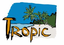 Tropic Royalty Free Stock Images