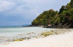 Tropic island landscape Royalty Free Stock Image