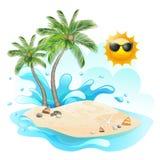 Tropic island Royalty Free Stock Photography