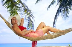 Tropic lounge Stock Photography