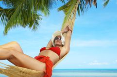 In tropic net Stock Images