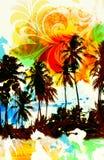 Tropic paradise Stock Photography