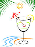 Tropic Punch Stock Images