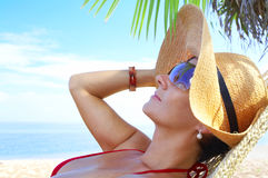 Tropic relaxation Stock Photos