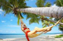 Tropic relaxation Stock Photography