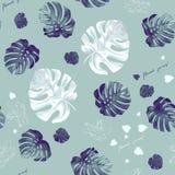 Tropic seamless pattern Stock Photo