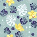 Tropic seamless pattern vector illustration
