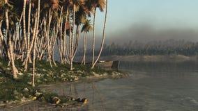 Tropic Shore stock photo