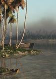 Tropic Shore Vertical stock image