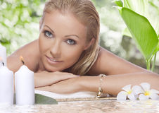 Tropic spa Royalty Free Stock Images
