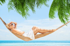 Tropic swing Royalty Free Stock Photo
