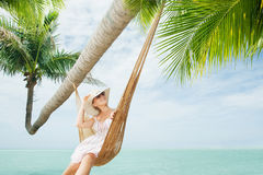Tropic swing Royalty Free Stock Image
