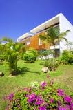 Tropic villa Stock Images