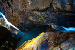Tropic waterfall Klong Plu Royalty Free Stock Photography