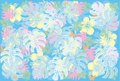 Tropical. This graphic is tropical pattern Stock Photography