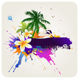 Tropical abstract background Stock Images