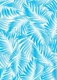 Tropical aqua leaf Stock Image