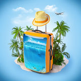 Tropical background Stock Photography