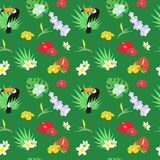 The  tropical background Stock Photos