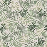Tropical background with palm leaves. Seamless floral pattern. S. Ummer vector illustration vector illustration