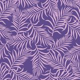 Tropical background with palm leaves. Seamless floral pattern. S Royalty Free Stock Photo