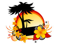 Tropical backgrounds Royalty Free Stock Image