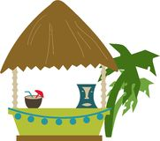 Tropical Bar Royalty Free Stock Photo