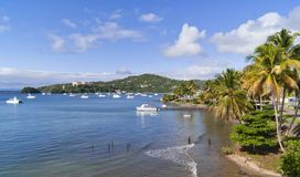 Tropical bay Royalty Free Stock Images
